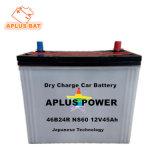 A tecnologia Janpanese norma JIS Automobile baterias secas 12V 40ah 32c24R