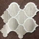 Diseño Waterjet del azulejo de mosaico de la viruta del mosaico del diseño único