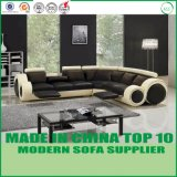 L forma funcional Modular Sala sofá de couro