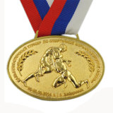 Медаль школы сувенира спорта металла для программы Jiu-Jitsu (HST-MS-120)