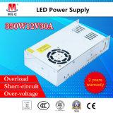12V 29A SMPS AC à DC Alimentation à commutation de sortie simple 350 W pour l'éclairage LED