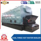 Warmwasserspeicher der horizontalen Kohle-1400kg/Hr für färbende Industrie