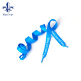 Factory Directly of halls Custom Colorful Shoelace with plastic tie-clip