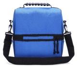 Lunch Box aislado azul bolsa de comida del refrigerador grande Bolso