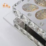 Lampadario a bracci moderno quadrato chiaro Pendant di cristallo operato di figura LED
