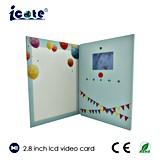 Карточка LCD 2.8 дюймов цены по прейскуранту завода-изготовителя красивейшая видео-