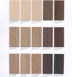 Decoración de interiores de grano de madera laminado hpl hojas de HPL con acabado de la superficie de más de 30