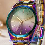 Montres-bracelet faites sur commande de mode de montre de quartz de logo pour les dames des hommes (WY-17003A)