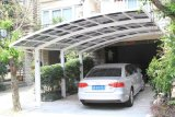 Carport do policarbonato da máscara de Sun do carro dos dosséis do carro