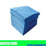 70% Polyerter e pulitore di nylon di Microfiber del locale senza polvere 160g di 30%