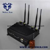 Telefono mobile ed emittente di disturbo da tavolino registrabili di WiFi con telecomando