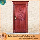 Une seule porte en bois Desheng Grill Marché de conception pour l'Éthiopie