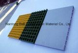 El FRP rejilla moldeada, GRP Non-Slip Glassfiber pasarelas, plataformas, paneles de fibra de vidrio.