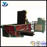 Prensa hidráulica automática horizontal de la prensa de la chatarra