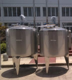 Tanque de acero inoxidable depósito mezclador Tanque de depósito de vapor