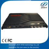 Programa de lectura fijado 4port de la frecuencia ultraelevada con RFID con software libre y Sdk