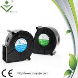 Воздуходувка DC вентилятора 75X74X29.5mm воздуходувки Xyj7530 12V 24V высокотемпературная водоустойчивая безщеточная охлаждая