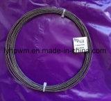 Cable trenzado de tungsteno, Tungsteno alambre trenzado de tungsteno, proveedor de cable en espiral de diámetro 0,75 mm