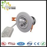 Peonylighting Suppling 5W Patended LED abajo se enciende con las virutas y el programa piloto de la buena calidad LED