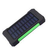 방수 이중 USB Li 중합체 배터리 충전기 30000mAh 태양 전지판 힘 은행