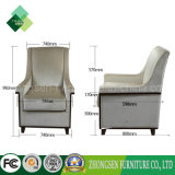 現代方法様式の居間(ZSC-50)のための単一のソファーの椅子