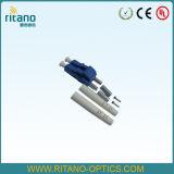 Duplex Sm 2,0mm LC/PC do conector de fibra ótica com RoHS compatível