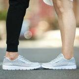Le sport de couples de mode chausse les hommes respirables de tailles importantes exécutant des chaussures de sport sportif d'espadrilles