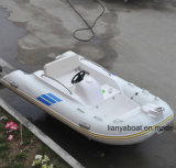 Barco inflable de la hospitalidad FRP de la playa de la costilla los 3.3m de Liya