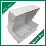Fscの証明書の白い靴の包装ボックス