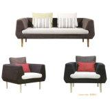 Design courbé tissu canapé salon pour la salle de séjour