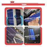 bolacha do laser do silicone da célula solar de 20W 30W que risc a máquina de estaca