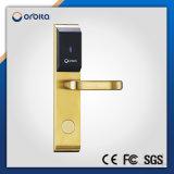 Fechamento de porta Keyless eletrônico impermeável a pilhas do leitor de cartão do hotel de Orbita RFID