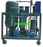Sistema de tratamiento usado de petróleo hidráulico, aceite lubricante que recicla la máquina