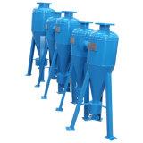 O ciclone de irrigação agrícola automática do filtro de Areia