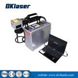 Tipo de fibra óptica de Metal Portátil máquina de marcado láser para joyería