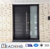 別荘のプロジェクトのための木製の装飾の中の機密保護の鋼鉄ドア