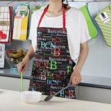 Barato promocional avental de Não Tecidos, avental descartável grossista para