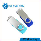 Palillo de destello del USB, palillo del mecanismo impulsor del flash del USB del eslabón giratorio