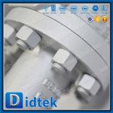 L'acciaio inossidabile di Didtek ha lanciato la valvola a sfera di galleggiamento con la leva di gestione
