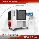 Горячая повышая машина маркировки лазера металла волокна 20W с CE