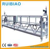 La escalada del mástil de la plataforma de trabajo plataforma de la etapa de aluminio