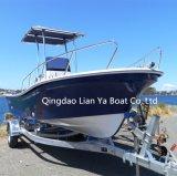 Bateau bon marché de Panga de bateaux de fibre de verre de Liya 19FT pour la pêche (SW580)