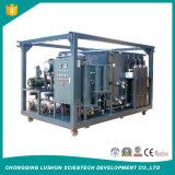 Fase de doble sistema de purificación de aceite de transformadores y residuos de aceite del transformador de la máquina de tratamiento