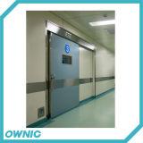 Автоматическая сползая дверь комнаты CT двери предохранения от радиации двери руководства рентгеновского снимка Zftdm-4