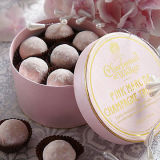 Коробка для десерта, коробка круглого подарка картона упаковывая подарка шоколада бумажная, изготовленный на заказ размер, логос, цвет