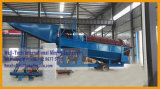 máquina de la criba de la minería aurífera del río 100tph
