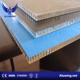 Painel de alumínio alveolado Ahp isolados para revestimento de paredes interiores e exteriores