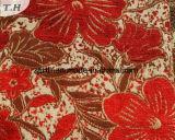 Café e Brown pelúcias tecidos florais por terra especiais