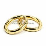 A curvatura redonda do anel da liga quente do zinco do metal da venda para o saco parte os acessórios dos bens do couro de sapatas da curvatura de correia (Yk941, 966, 967)