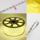 indicatori luminosi di striscia a pile d'accensione della striscia 5050 LED di 4000K LED